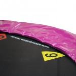 OZ Trampolines Summit Round 10 Ft. Above Ground Trampoline - Pink