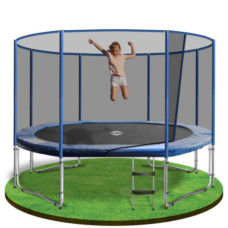 OZ Trampolines Summit Oval/Rectangular 7 X 10 Ft. Above