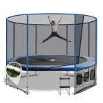 OZ Trampolines Summit Oval/Rectangular 10 x 15 Ft. Above Ground Trampoline