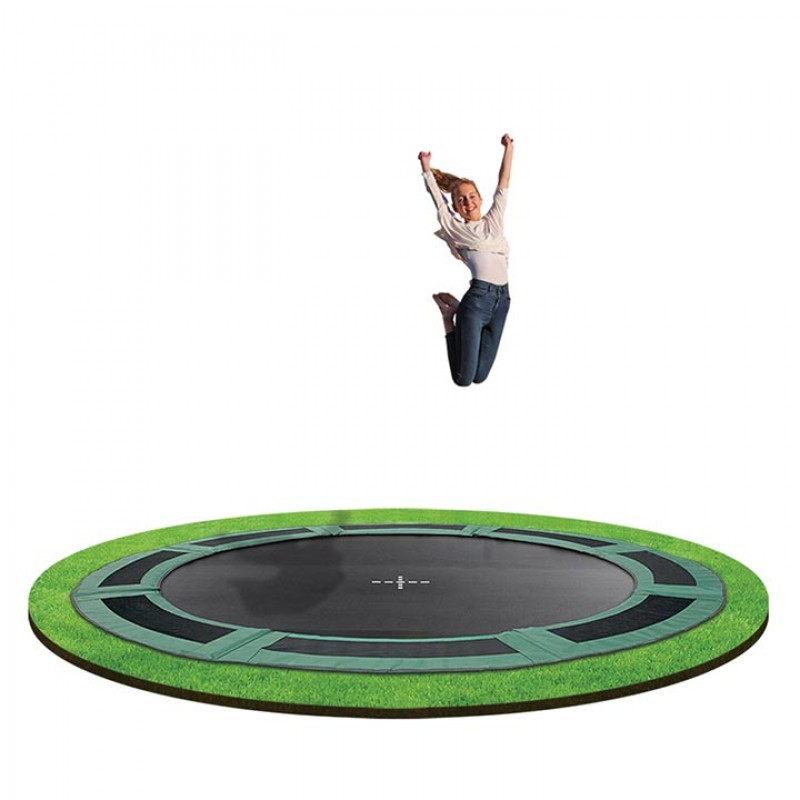 OZ Trampolines 12 Ft. In-Ground Trampoline