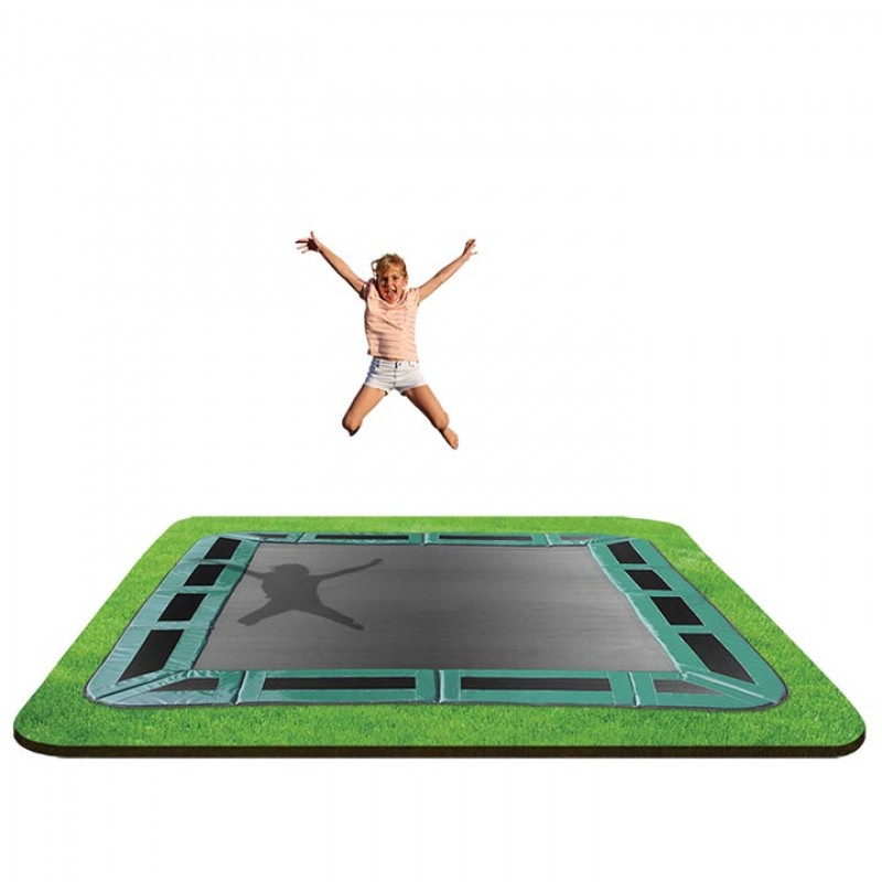 OZ Trampolines 8 x 11 Ft. In-Ground Trampoline
