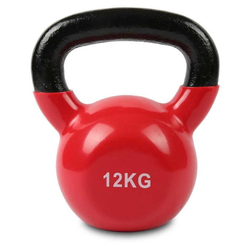 Kettlebell 52 Kg: 12kg Vinyl Kettlebell