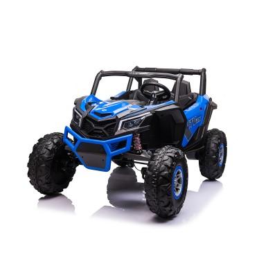 Go Skitz Wave 200 Kids 24V E-Buggy Ride On - Blue