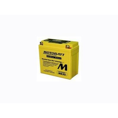 Motobatt MB3U Battery AGM with Quadflex Technology