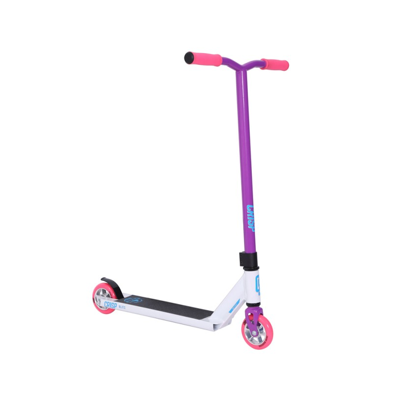 Crisp Blitz Scooter - White/Purple