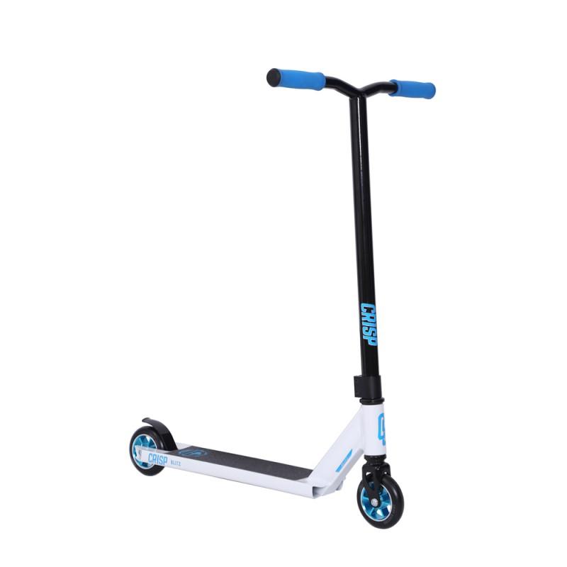 Crisp Blitz Scooter - White/Blue